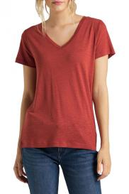 Футболка V NECK TEE RED OCHRE Lee